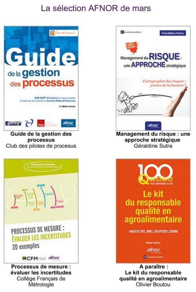 Le Guide de la Gestion des Processus en vedette à l'AFNOR…